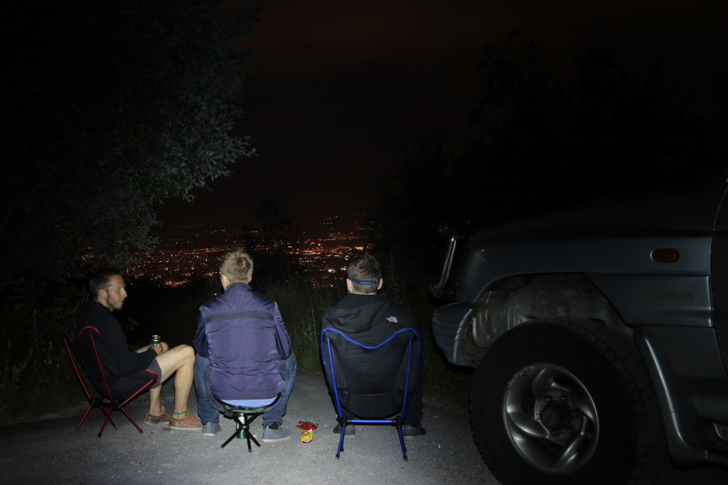 The night in front of Sofia