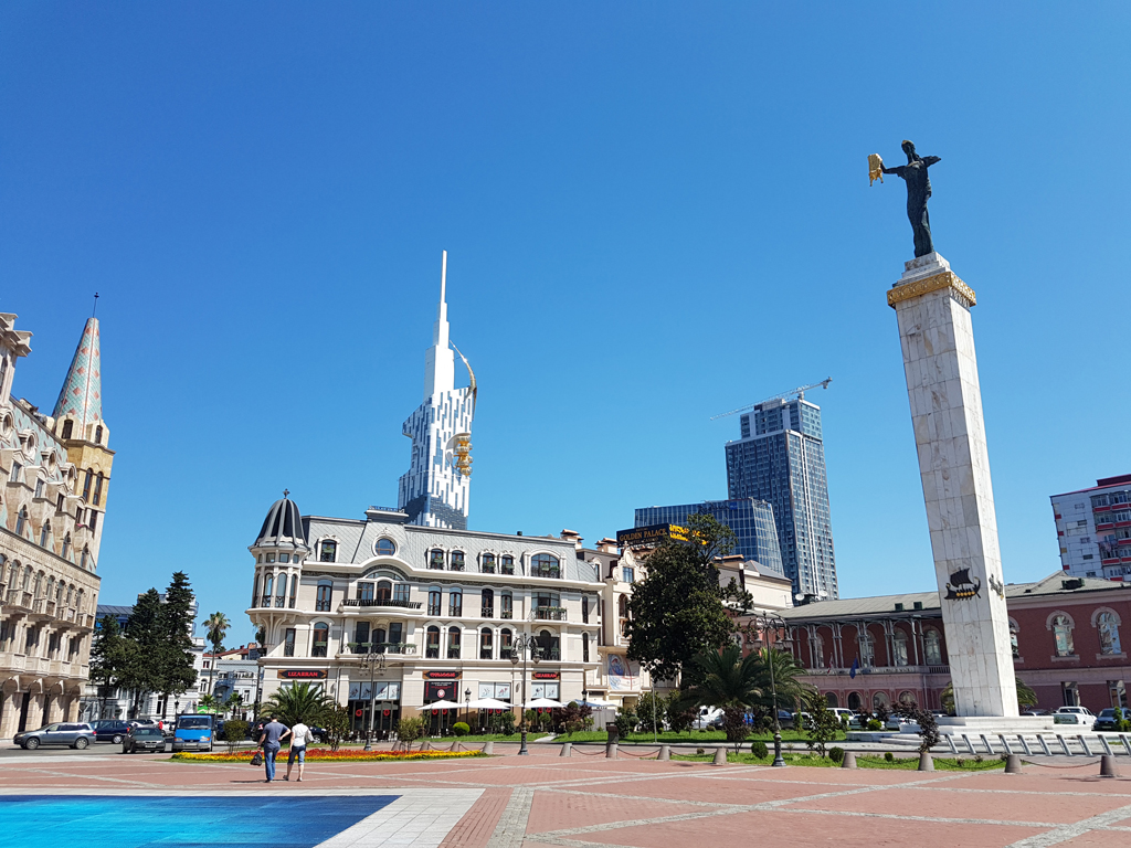 Der Hauptplatz von Batumi
