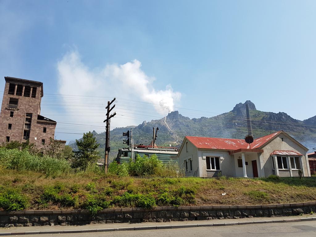 Industrie im Norden von Armenien