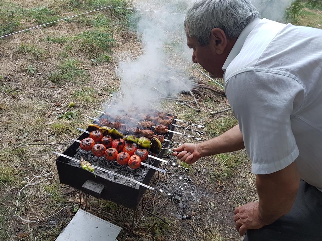 Vorbereitung des Abendessens