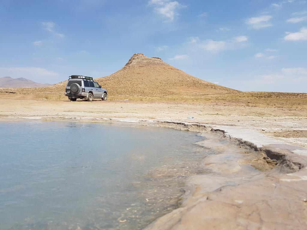 Auf dem Weg nach Takht-e Soleiman