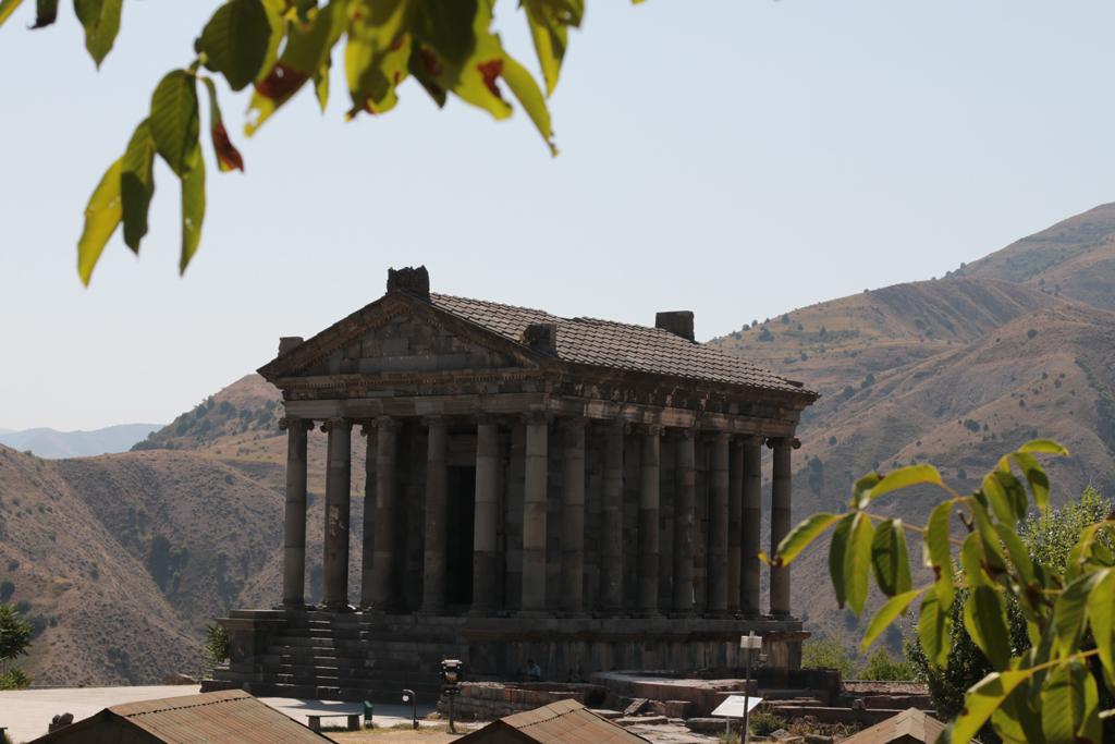 Der Tempel von Garni, 20km von Yerevan entfernt