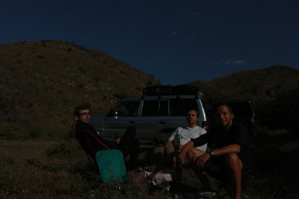 Unser Nachtlager im Mondscheinlicht