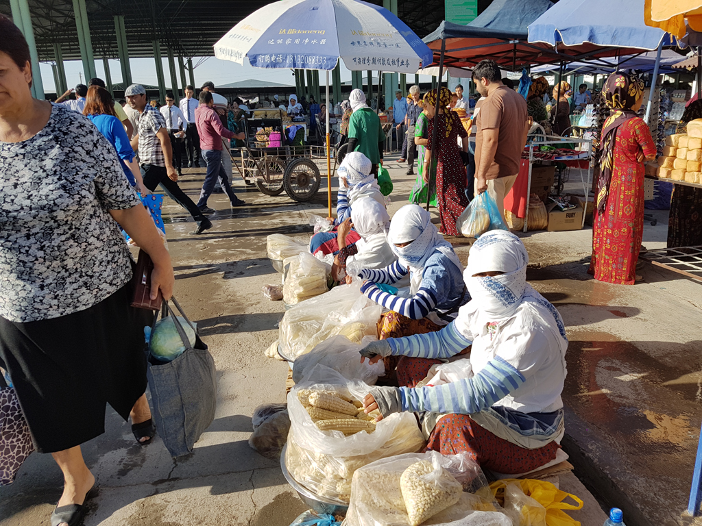 Market in Turkmenistan