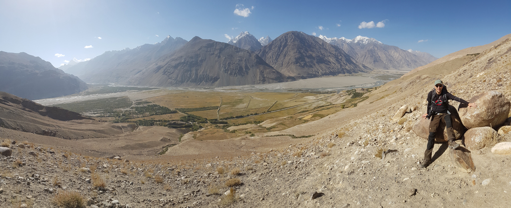 Blick auf den Wakhan-Korridor