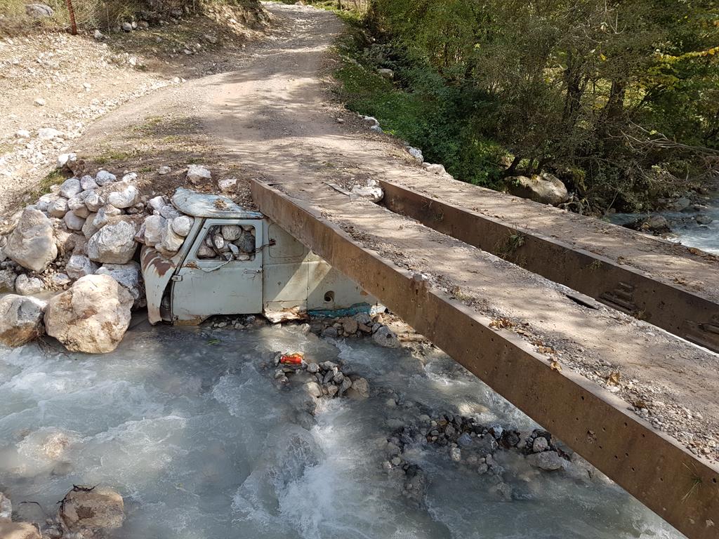 DIe Kirgisen waren beim Bau der Brücken erfinderisch