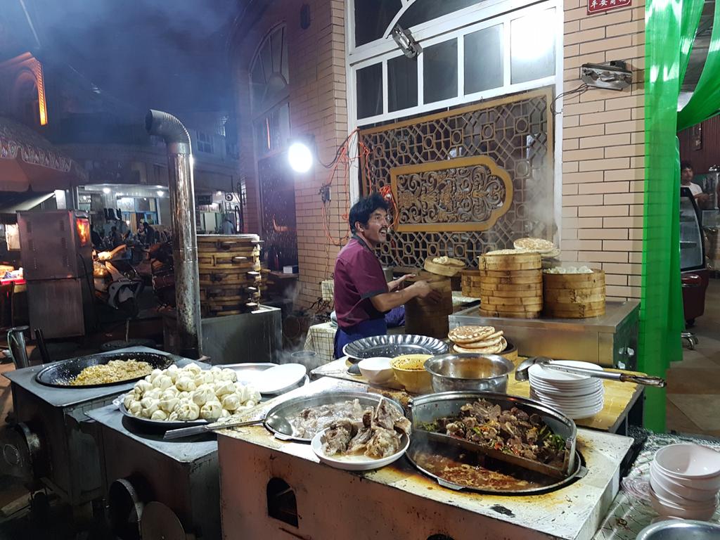 Streetfood in Kashgar