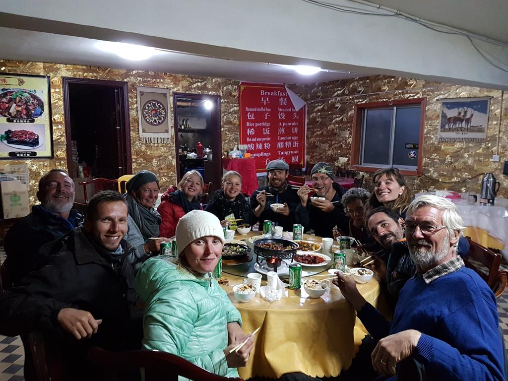 Die Reisegruppe: Nicolette, Mathias (ich), Jürgen, Ruth, Julia, Lydia, Wanja, Jeroen, Sue, Ines, Javier und Ed (Start vorne links nach rechts)