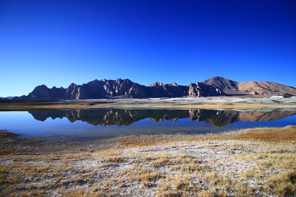 Landschaft in West-Tibet