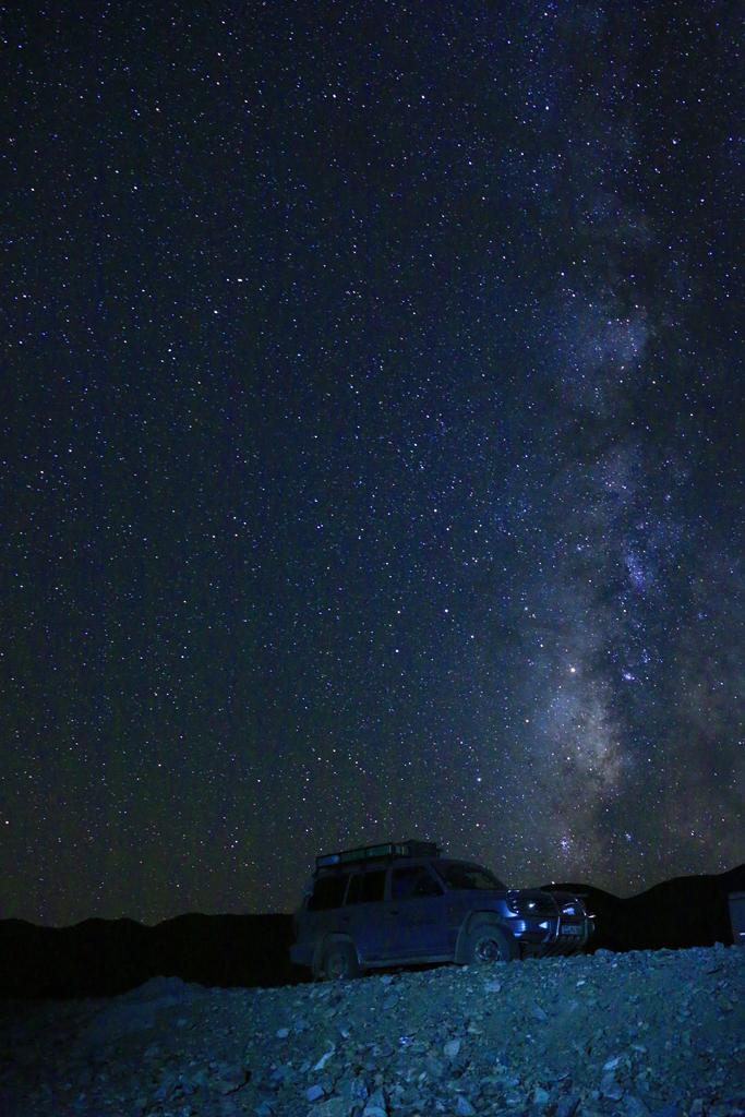 Sternenhimmel über Westtibet