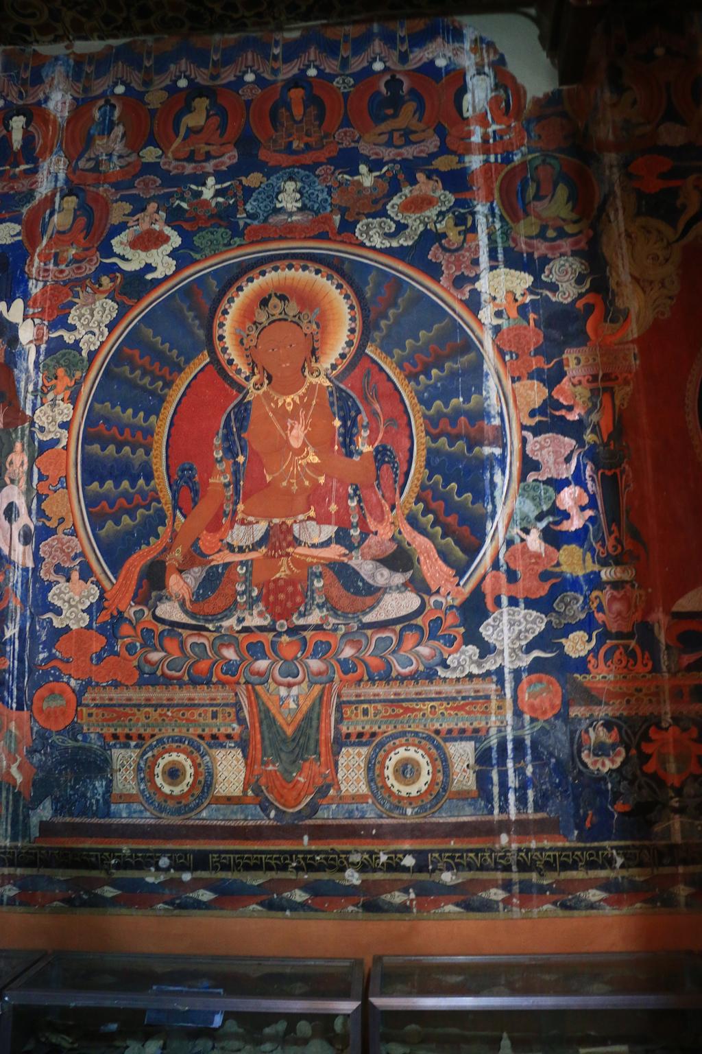 Malerei im Kloster