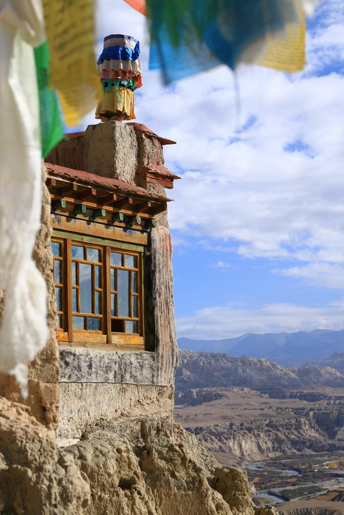 Kloster Tsaparang in Westtibet (Ehemals Bon-Gebiet)