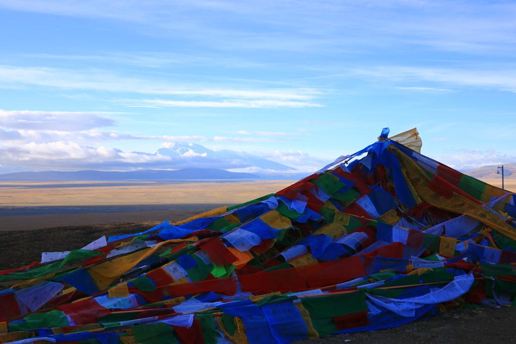 Blick in die weiten des tibetischen Hochlandes