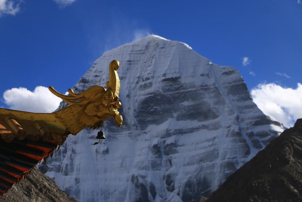 Der Kailash liegt nun frei!