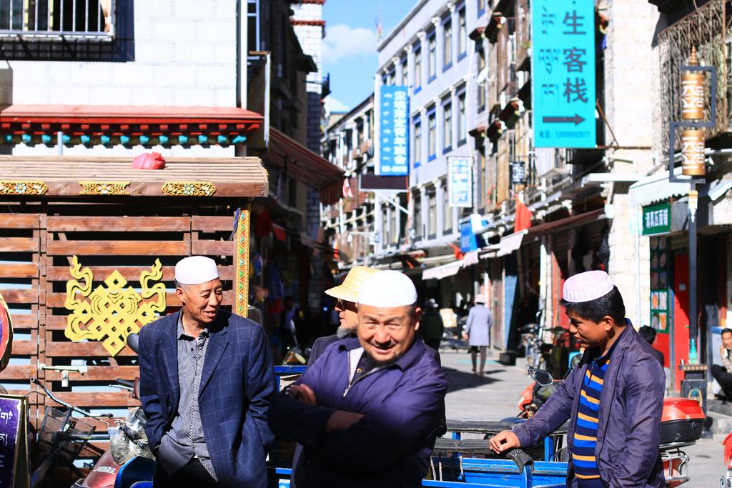 Muslimisches Viertel in Lhasa