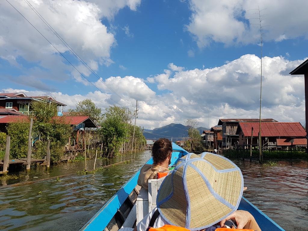 Ein Dorf auf dem Wasser - wie auf dem Lande