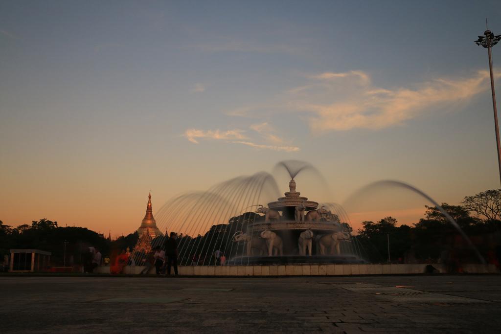 Das war mal die Hauptstadt: Yangon mit der Shwedagon-Pagode