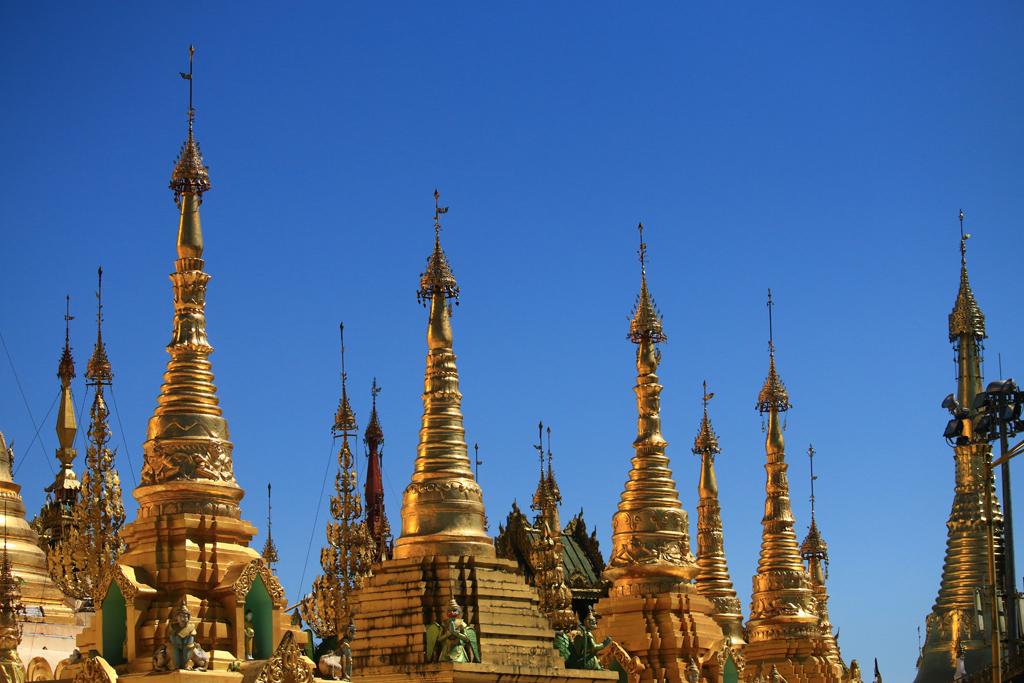 Gold der Shwedagon-Pagode