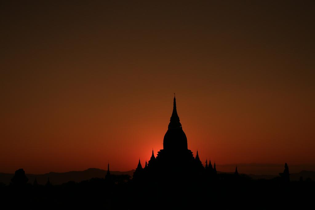 Sonnenuntergang am ersten Tag