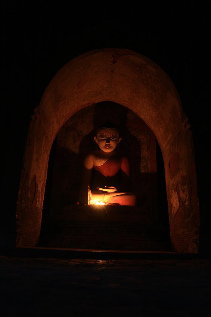 Buddhismus ist die Staatsreligon in Myanmar