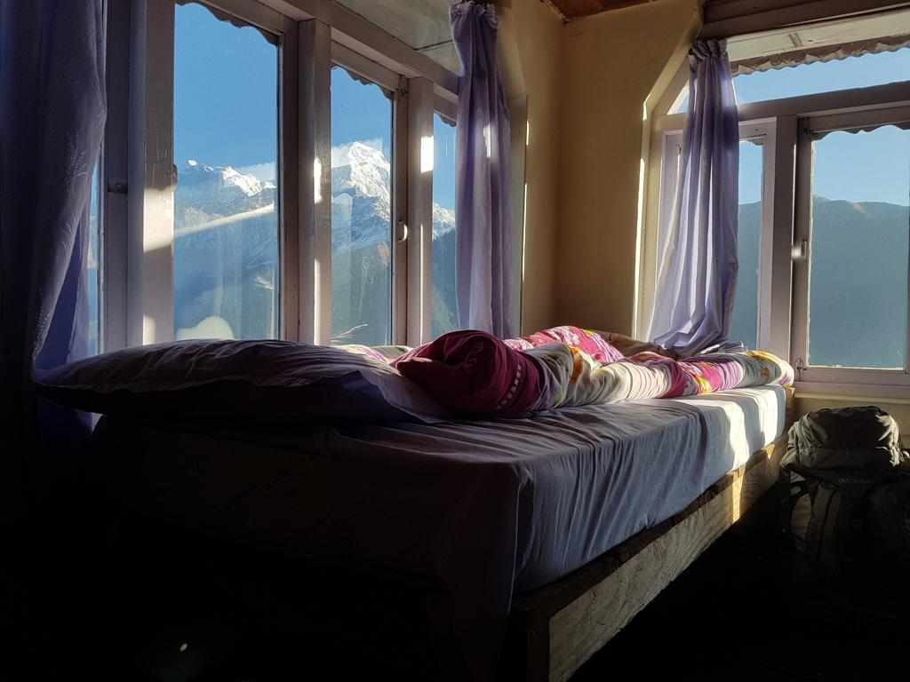 Die Aussicht von meinem Zimmer