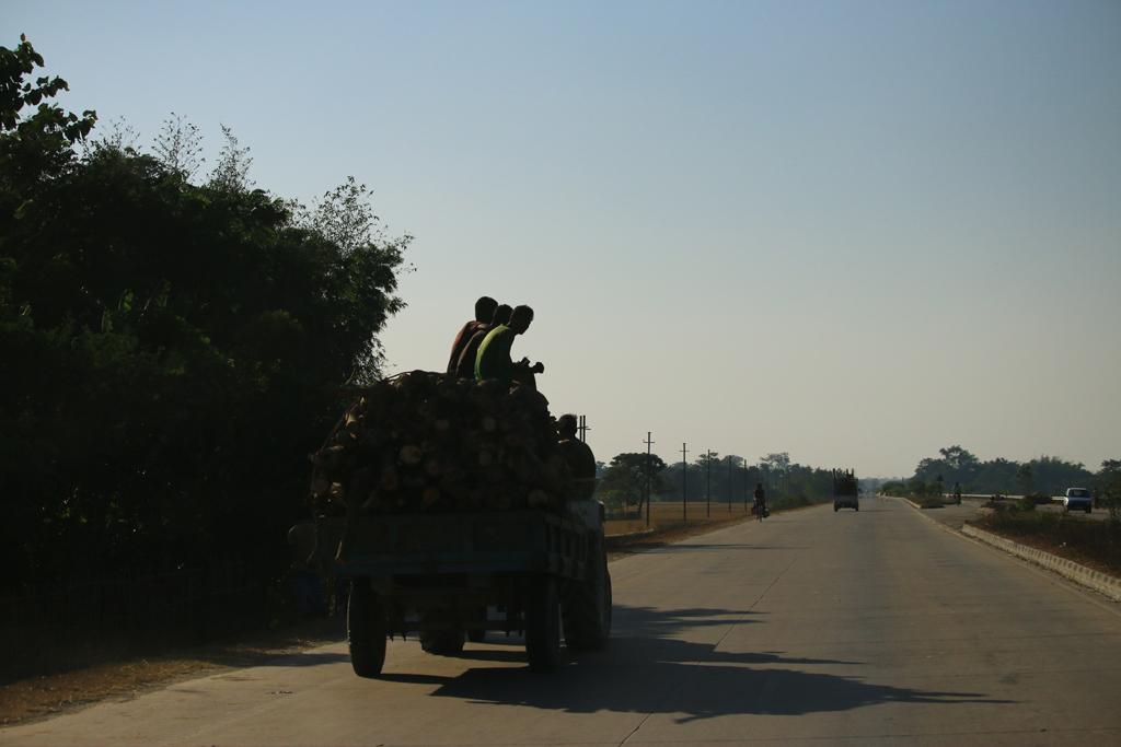 Eine indische Autobahn