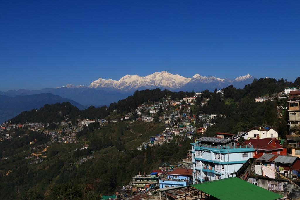 Ankunft in Darjeeling