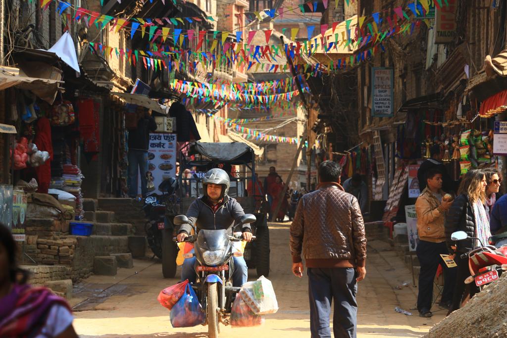Straßen von Bhaktapur