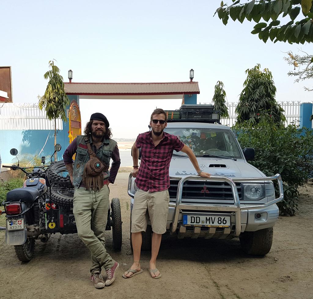 Hier treffe ich auch Pascal wieder, der 10 Tage mit mir durch Myanmar gefahren ist