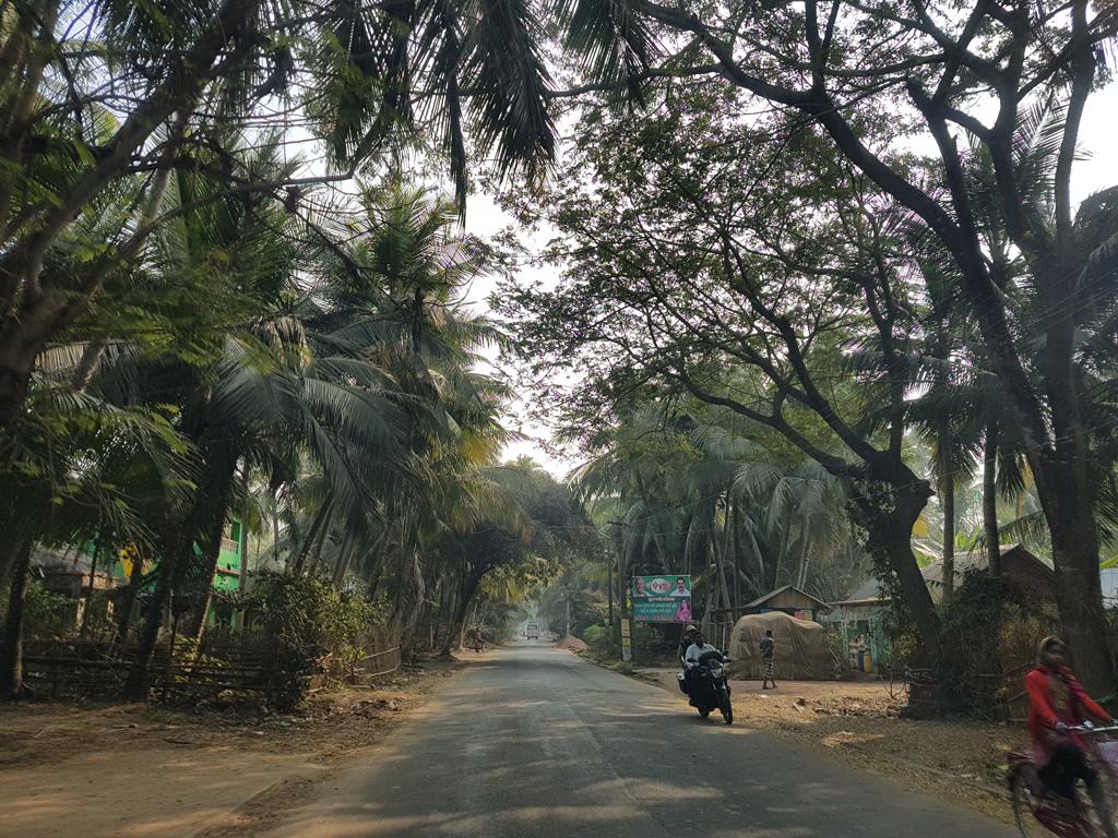 Eine sehr schöne Fahrt nach Puri