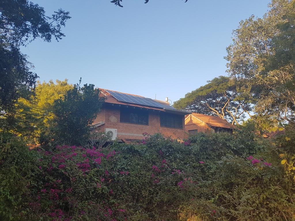 Wohnhäuser in Auroville
