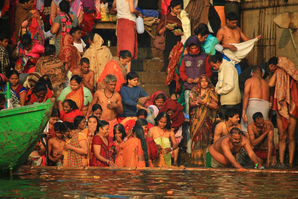 Szenen am Ganges