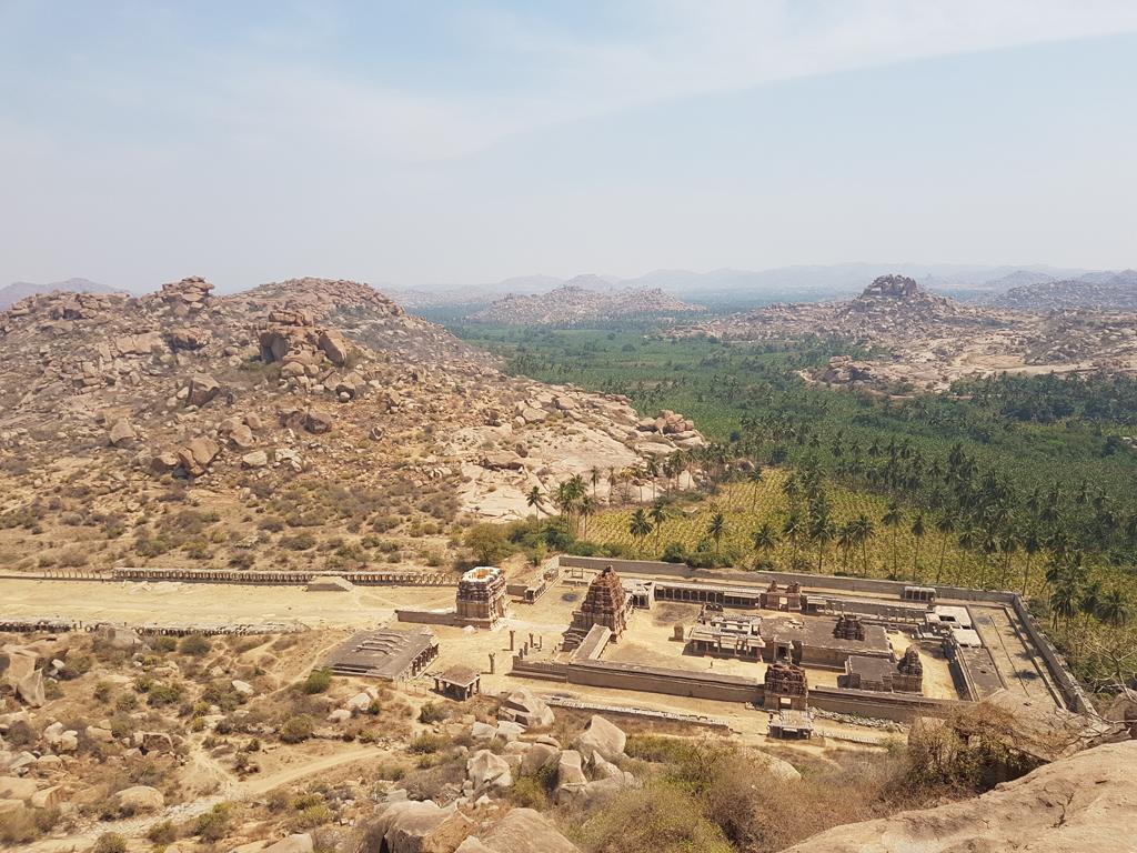 Die Ruinen von Hampi