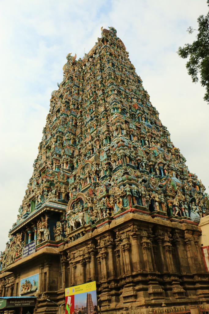 Einer der mächtigen Tempeltürme