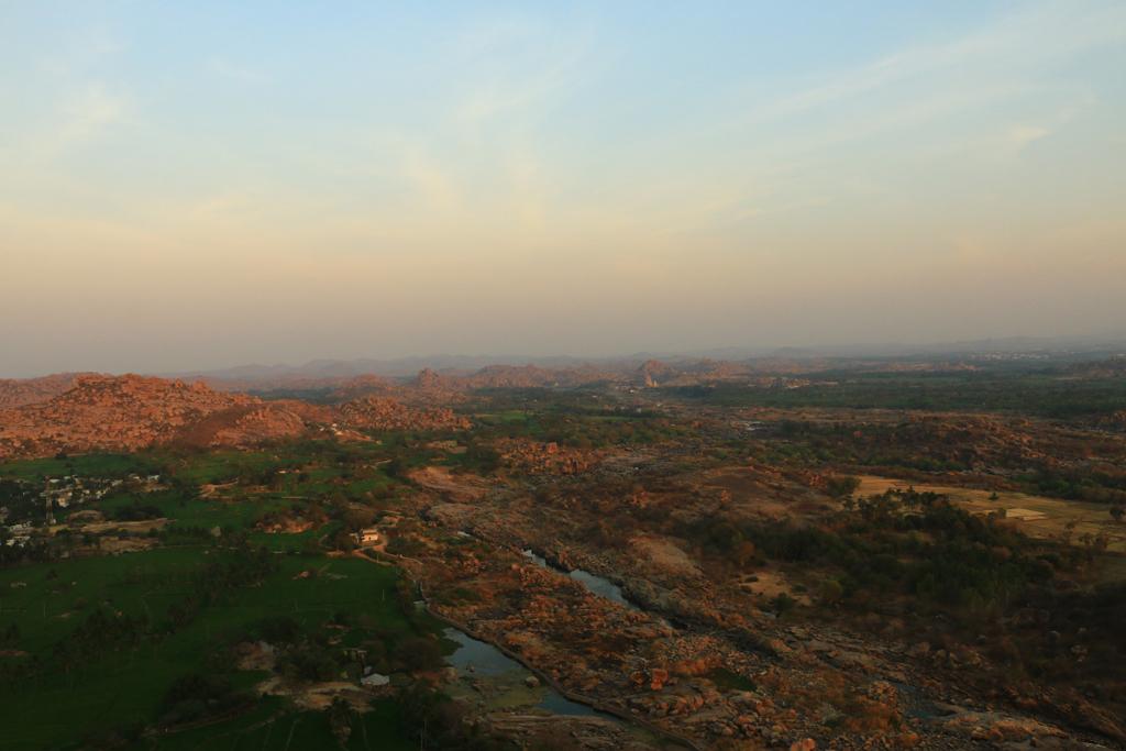 Die Landschaft um Hampi
