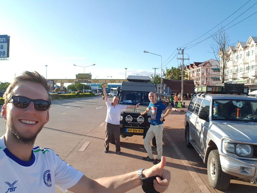 Als letzte für eine lange Zeit konnten wir noch in Thailand einreisen