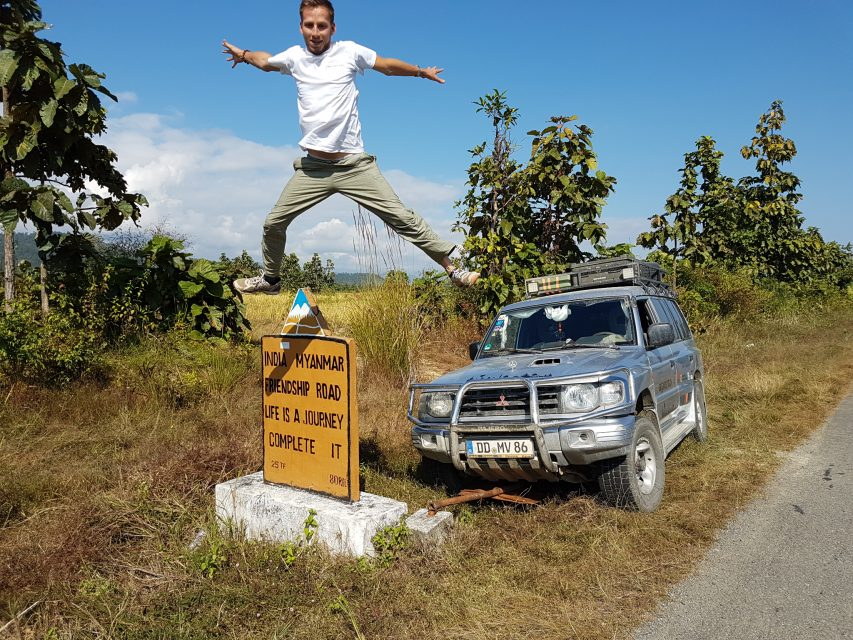 Geschafft! Myanmar ist durchquert!